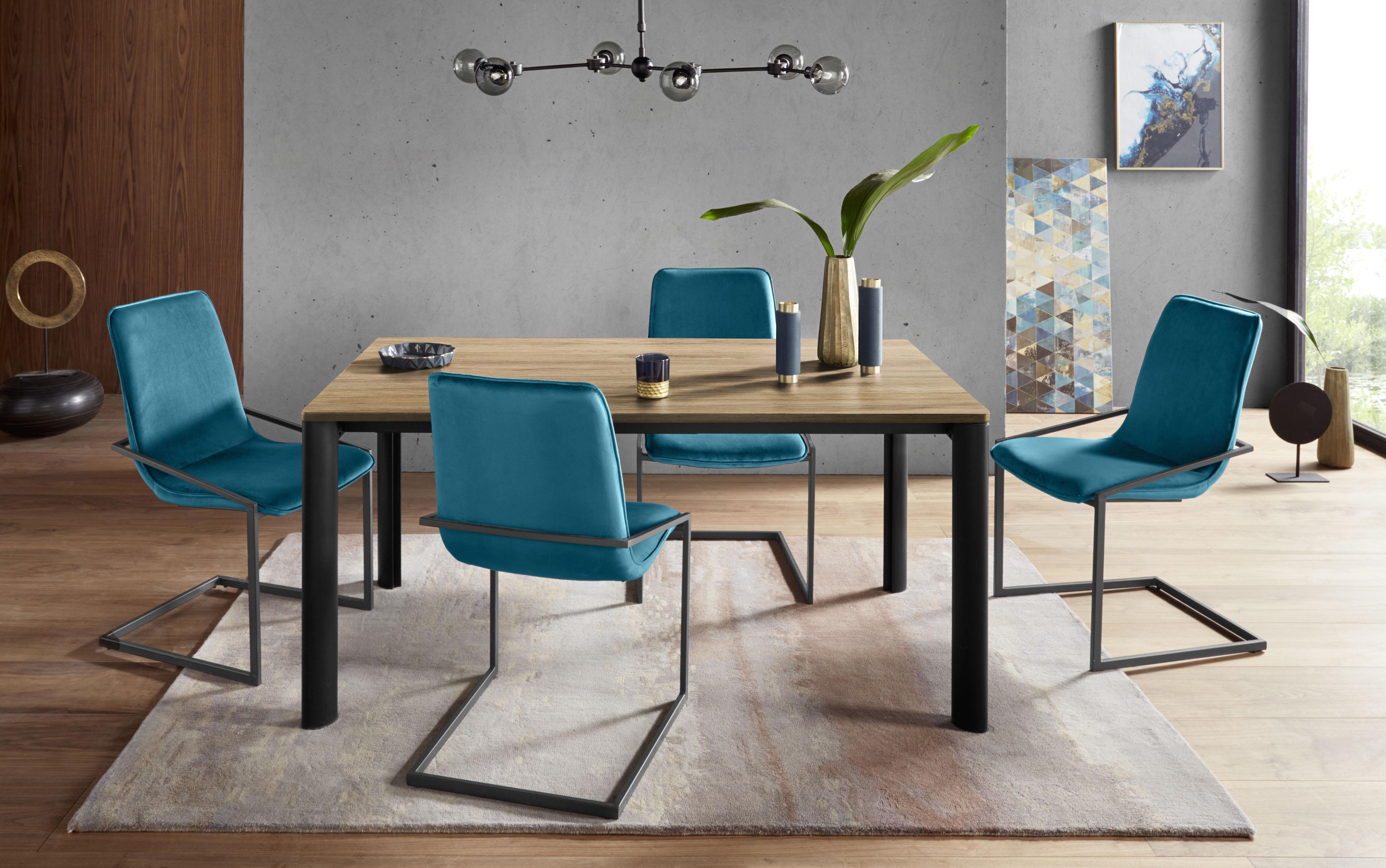 Places of Style Esstisch, in 2 Breiten und 5 verschiedenen Farben schwarz Esstisch Ausziehbare Esstische Tische
