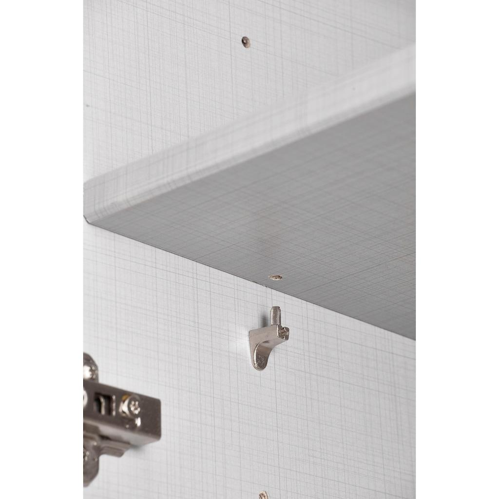 Fresh To Go Schwebetürenschrank »Magic«, mit drehbarer Spiegeltür