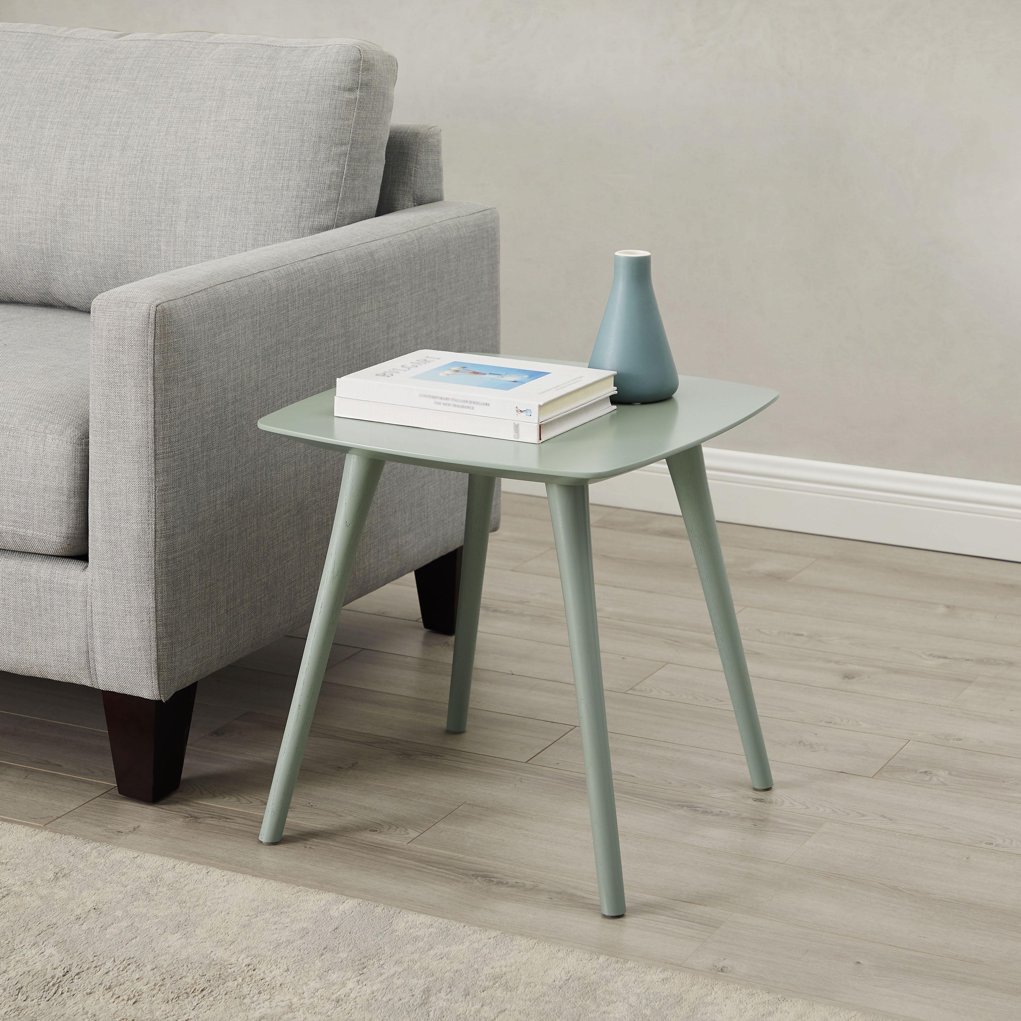 andas Beistelltisch Lisen, Design by Morten Georgsen, in 2 modernen Farben grün Beistelltische Tische