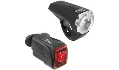 M - Wave Fahrradbeleuchtung »Atlas K10« (Set, Front -  und Rücklicht) kaufen