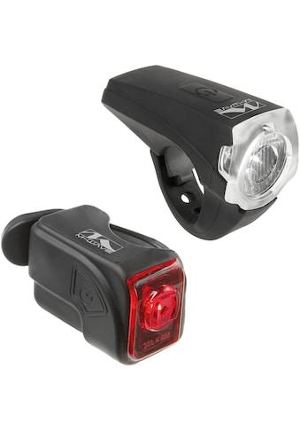M-Wave Fahrradbeleuchtung »Atlas K10«, (Set, Front- und Rücklicht) kaufen