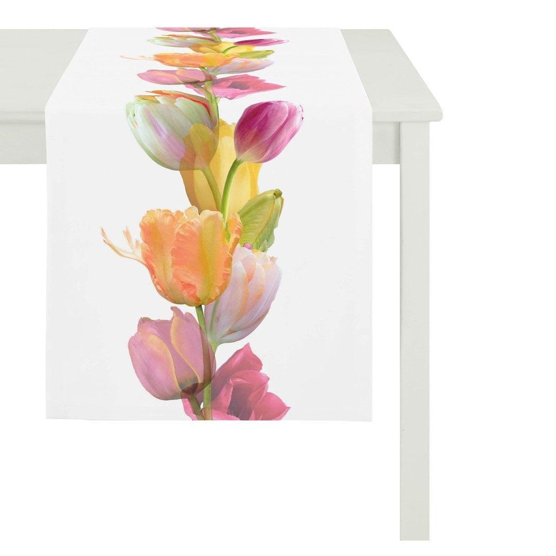 Tischdecke 5906 SPRINGTIME Tulpen APELT (1-tlg)