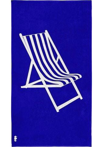 "Strandtuch ""Take a seat"", Seahorse kaufen"