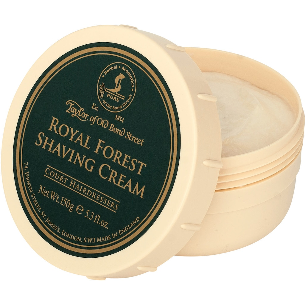 Taylor of Old Bond Street Rasiercreme »Shaving Cream Royal Forest«