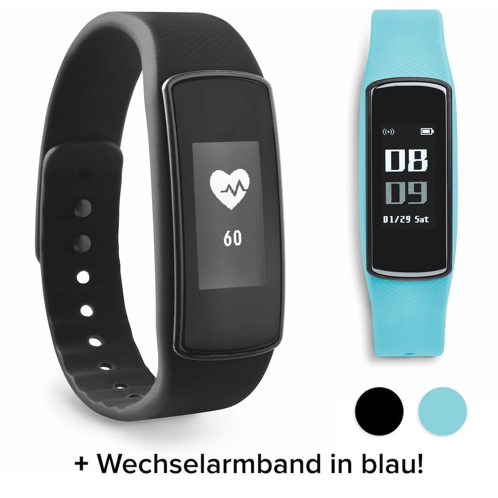 ADE Activity Tracker »AM1700 FitVigo«, Fitness Armband (Schrittzähler, Puls, Kalorien uvm.)