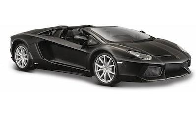 "Maisto® Sammlerauto ""Dull Black Collection, Lamborghini Aventador LP - 700 - 4 Roadster, 1:24, schwarz"", Maßstab 1:24 kaufen"