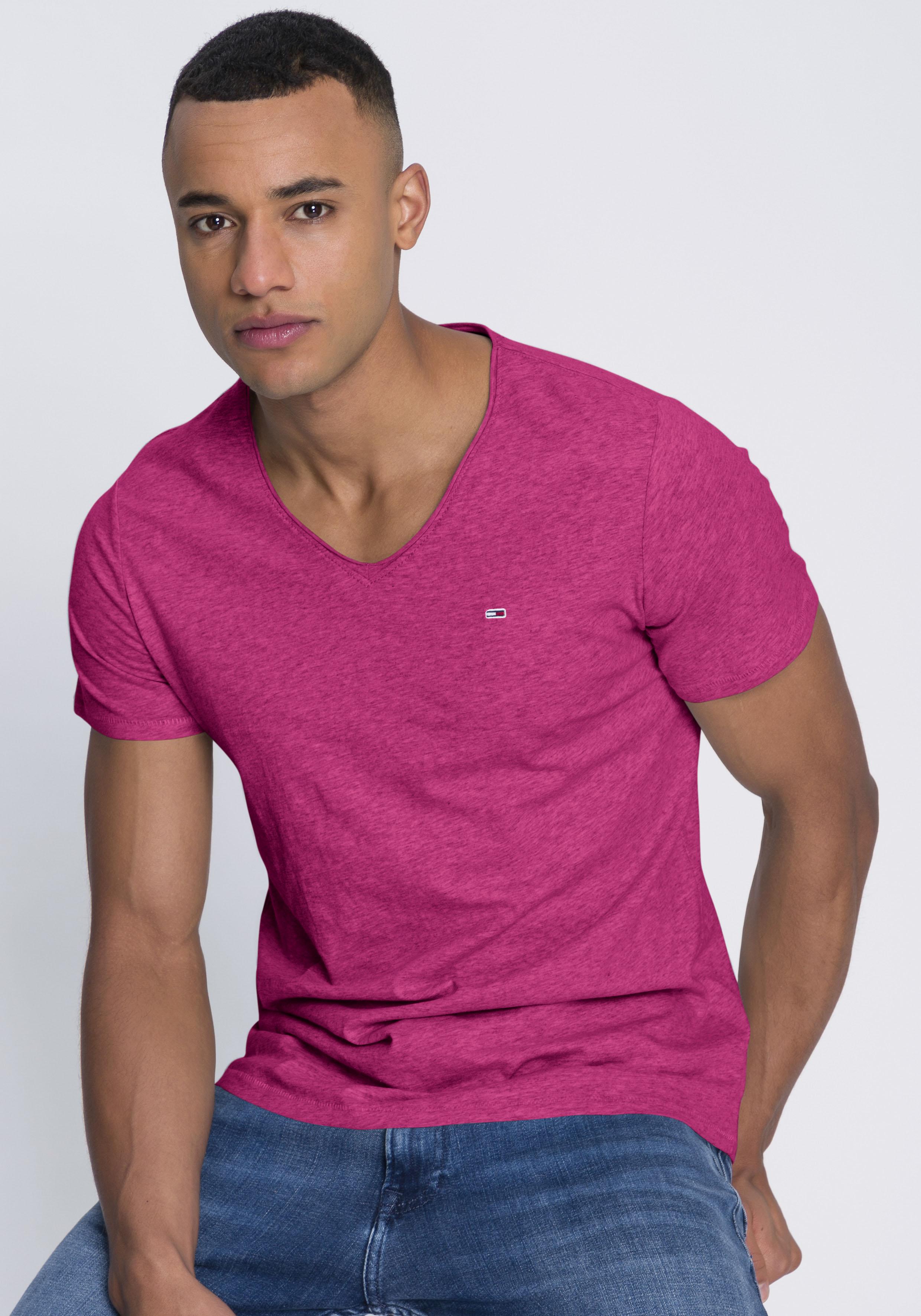 tommy jeans -  T-Shirt TJM SLIM JASPE V NECK