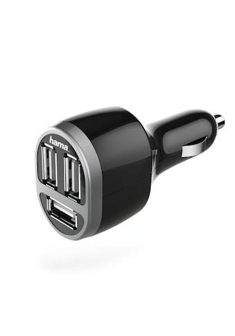 Hama Kfz-Ladegerät, 3-fach USB, 5.2 A, Schwarz kaufen