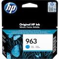 HP Tintenpatrone »hp 963 Original Cyan 1 Stück(e)«, (1 St.)