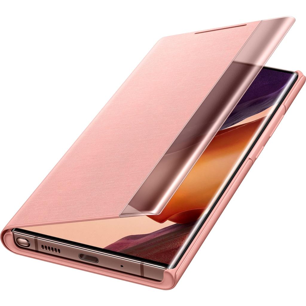 Samsung Flip Case »Clear View Cover EF-ZN985 für Note 20 Ultra«, Galaxy Note20 Ultra