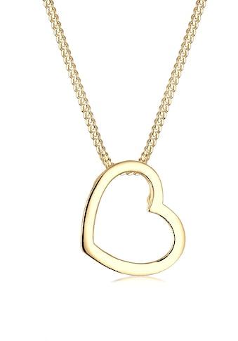 Elli Collierkettchen »Herz Liebe 925 Sterling Silber« kaufen