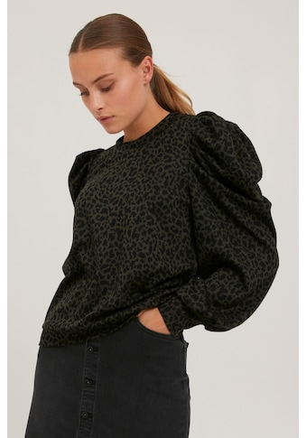 Pulz Jeans Langarmshirt »PZDUNNE 50206229«, Feminines Shirt mit Allover-Print kaufen