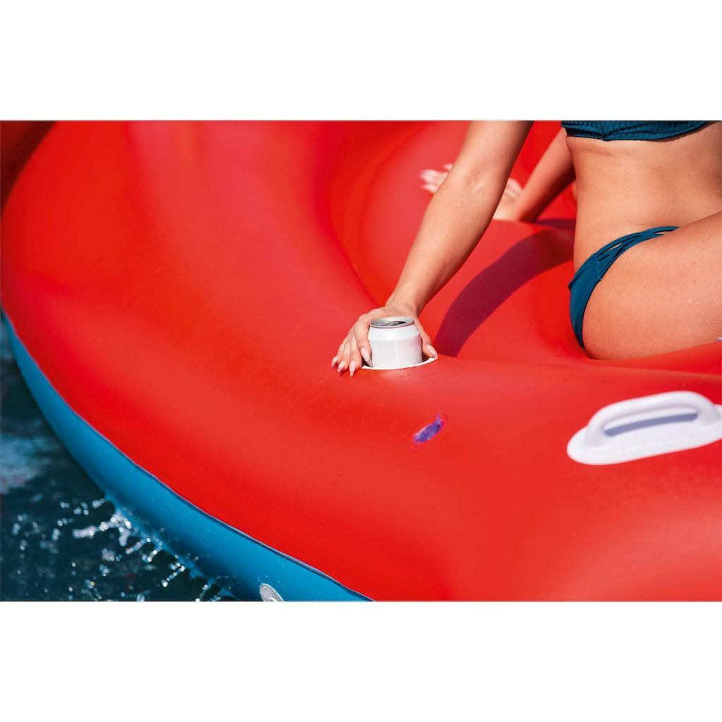 Bestway Badeinsel »Float'N Fashion™ Riesen Papagei«, BxLxH: 388x475x205 cm