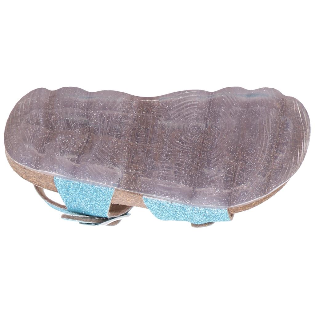 Superfit Sandale »Tieffußbett Sandale WMS Weiten-Messsystem: mittel«, mit verstellbaren Schnallen