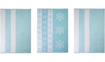 stuco Geschirrtuch »Eiskristall«, in zwei Varianten kaufen