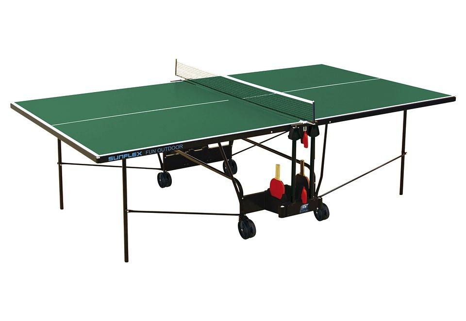 Sunflex Tischtennisplatte FUN OUTDOOR - WETTERFEST Technik & Freizeit/Sport & Freizeit/Sportarten/Tischtennis/Tischtennis-Ausrüstung