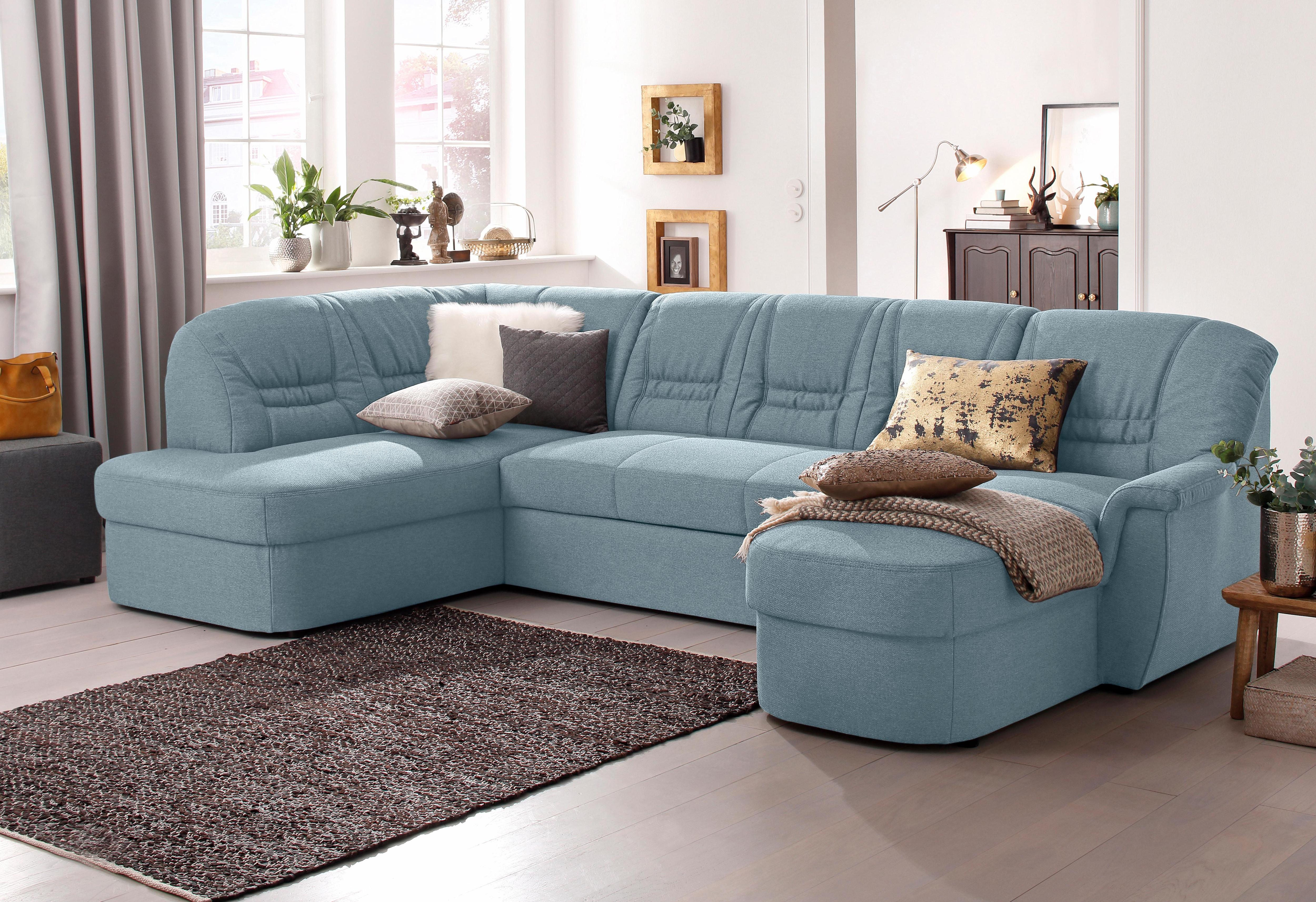 Home affaire Wohnlandschaft Zoe | Wohnzimmer > Sofas & Couches > Wohnlandschaften | Blau | home affaire