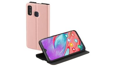 Hama Smartphone Booklet Handytasche Handyhülle für Samsung A40 »Schutz Single2.0 Rosa« kaufen