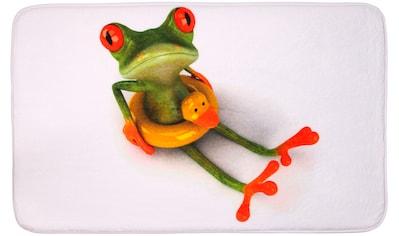Sanilo Badematte »Froggy«, Höhe 15 mm, schnell trocknend, Memory Schaum kaufen