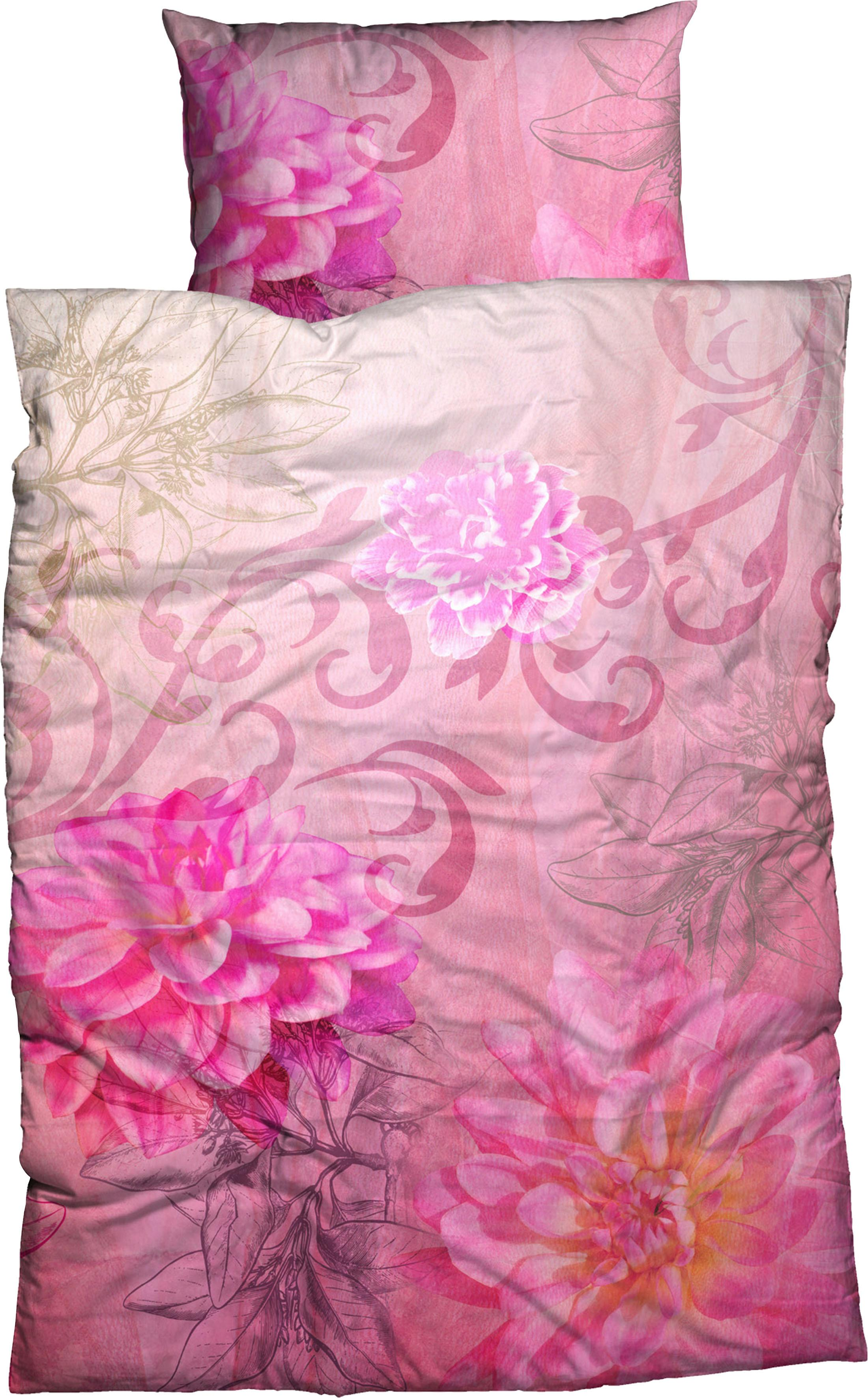Bettwäsche Violetta Flower CASATEX