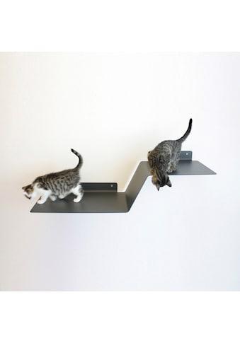 LucyBalu Katzen-Kletterwand »WAVE«, hoch, BxT: 92x29 cm, mit Korkauflage kaufen
