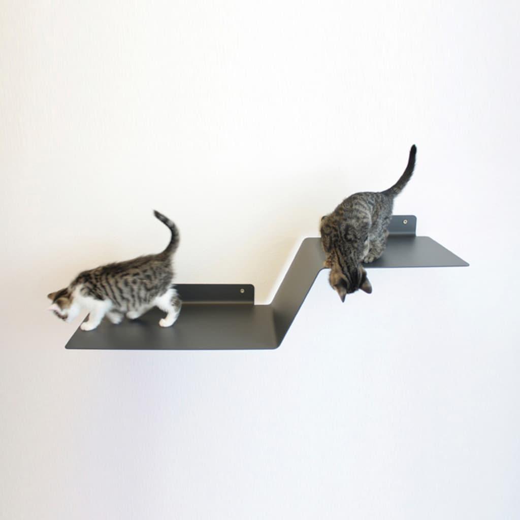 LucyBalu Katzen-Kletterwand »WAVE«, hoch, BxT: 92x29 cm, mit Korkauflage
