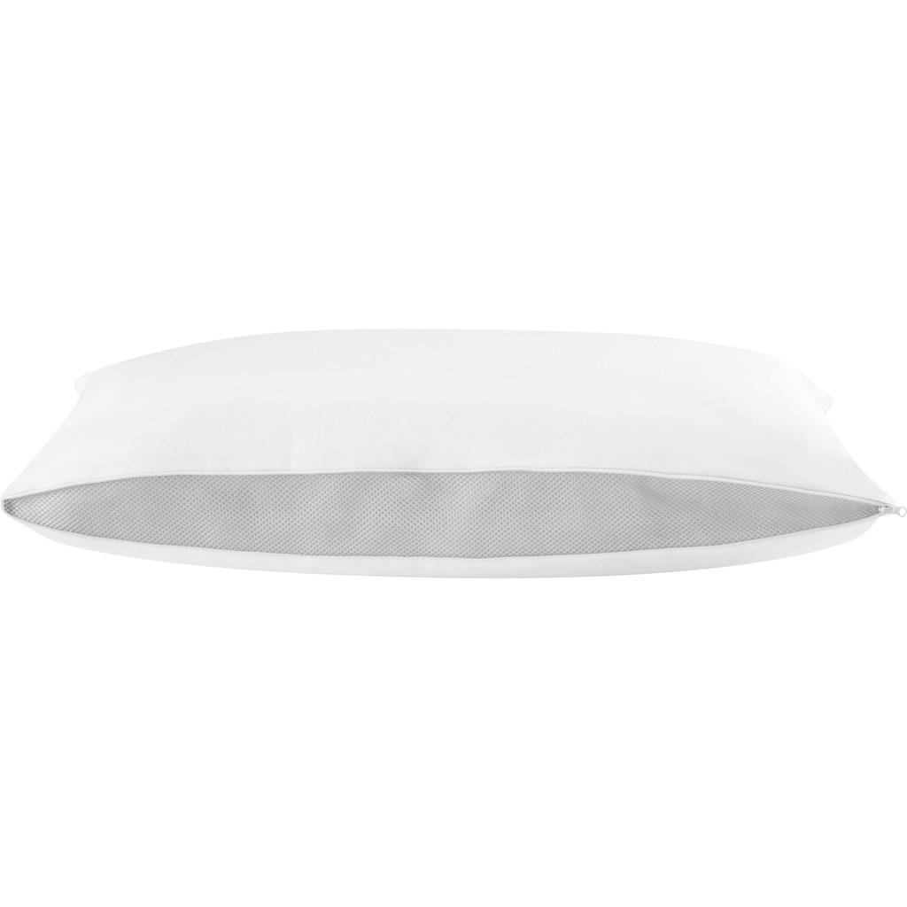 f.a.n. Schlafkomfort Microfaserkissen »Flexible Comfort«, (1 St.), Für jeden Schlaftyp geeignet!
