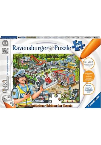 Ravensburger Puzzle »tiptoi® Im Einsatz«, Made in Germany, FSC® - schützt Wald - weltweit kaufen