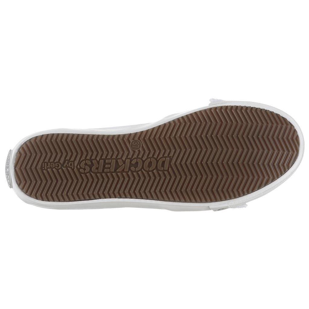 Dockers by Gerli Sneaker Ballerinas, mit auffälliger Schleife