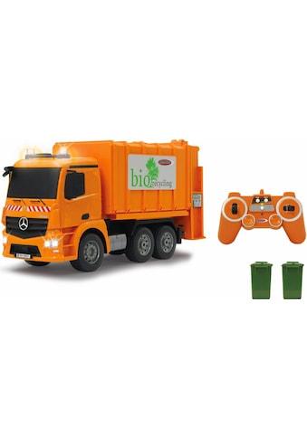 Jamara RC-Truck »Müllwagen Mercedes Antos«, mit Sound und LED Beleuchtung kaufen