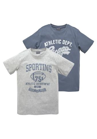 KIDSWORLD T-Shirt, in 2 Farben mit großem Druck kaufen