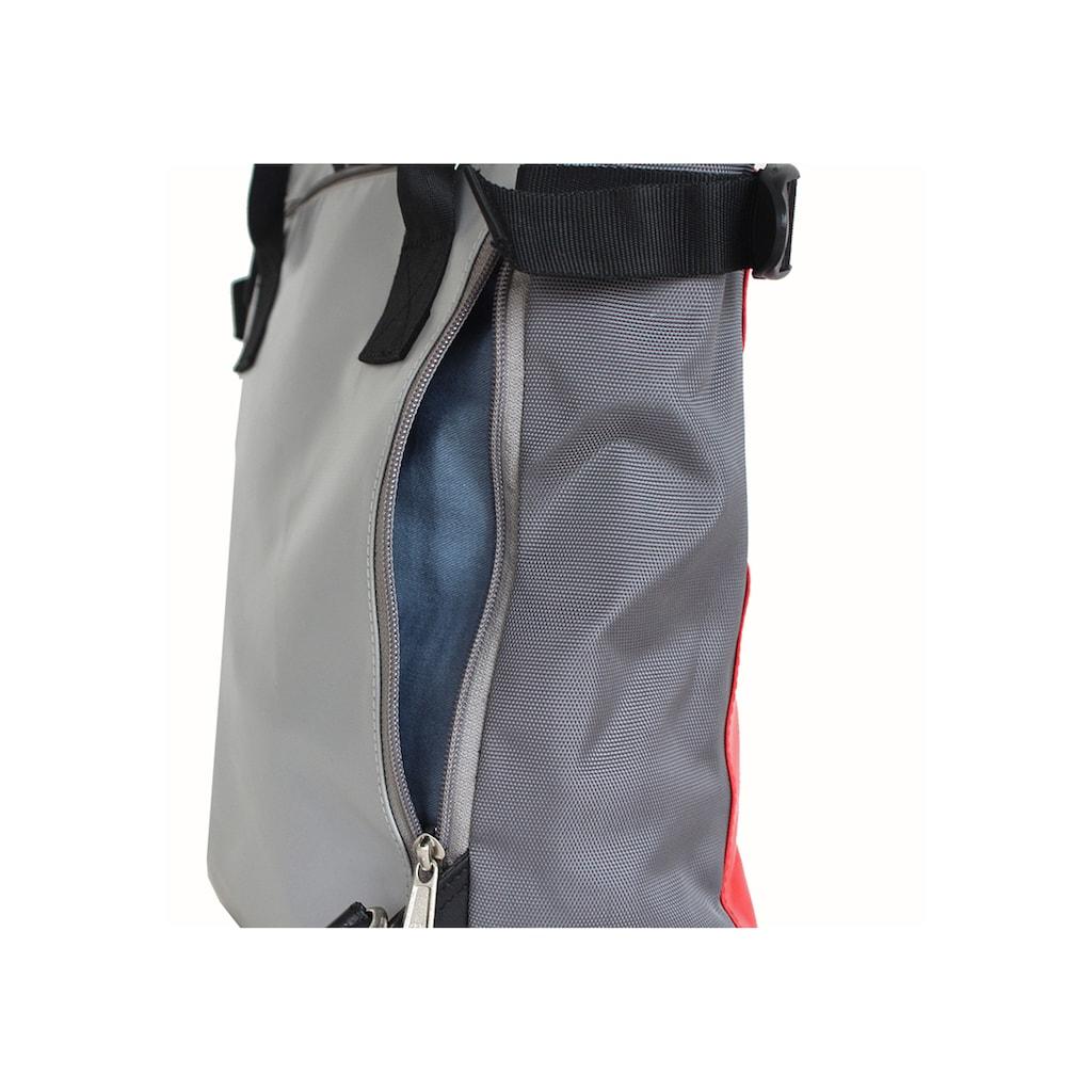 7clouds Cityrucksack »Mendo 7.1«, 2-in-1 Rucksack-Shopper Funktion