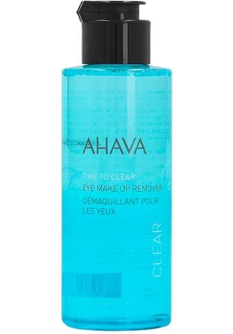 """AHAVA Augen - Make - up - Entferner """"Time To Clear Eye Makeup Remover"""" kaufen"""