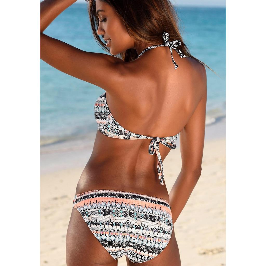 Sunseeker Bustier-Bikini, in Crop-Top Form