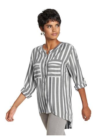 création L Bluse mit verlängertem Rückenteil kaufen