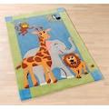 Böing Carpet Kinderteppich »Kids 1363«, rechteckig, 10 mm Höhe, Konturenschnitt