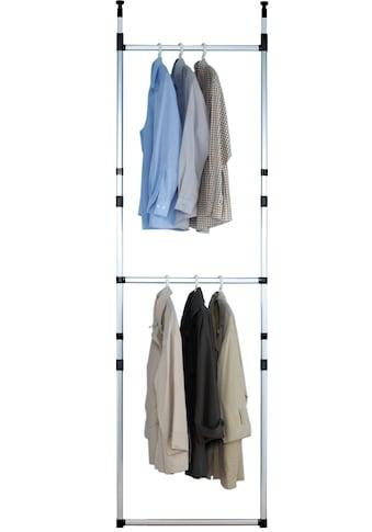 Ruco Teleskopregal, Aluminium/Kunststoff, ideal für begehbare Kleiderschränke, einfach... kaufen