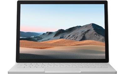 Microsoft Surface Book 3 i7, 256/16GB Platin Notebook (34,29 cm / 13,5 Zoll, Intel,Core i7,  -  GB HDD, 256 GB SSD) kaufen