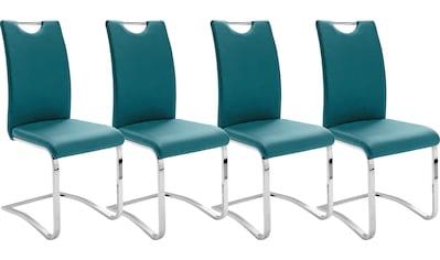 MCA furniture Freischwinger »Köln«, Kunstlederbezug mit Griffloch, Komfortsitzhöhe,... kaufen