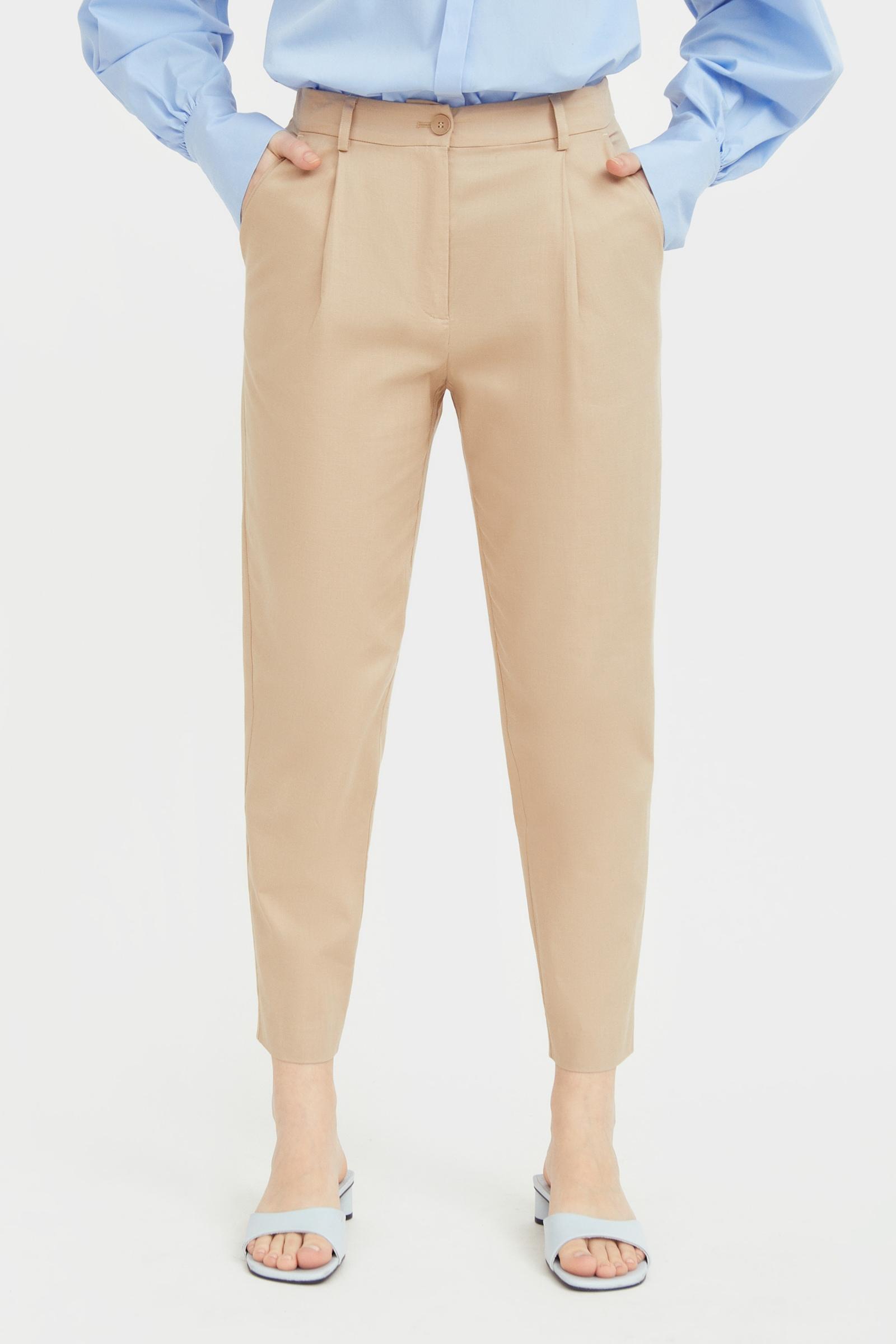 finn flare -  Stoffhose, mit geradem Bein