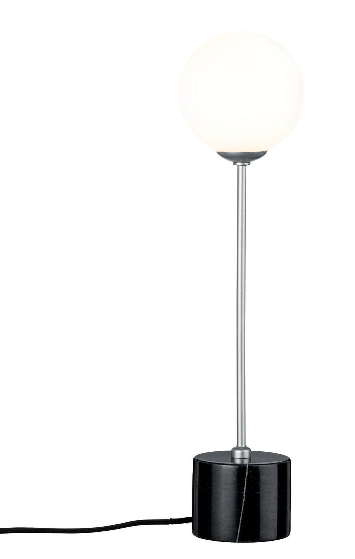 Paulmann LED Tischleuchte Neordic Moa Marmor/Chrom matt/Glas, G9, 1 St.