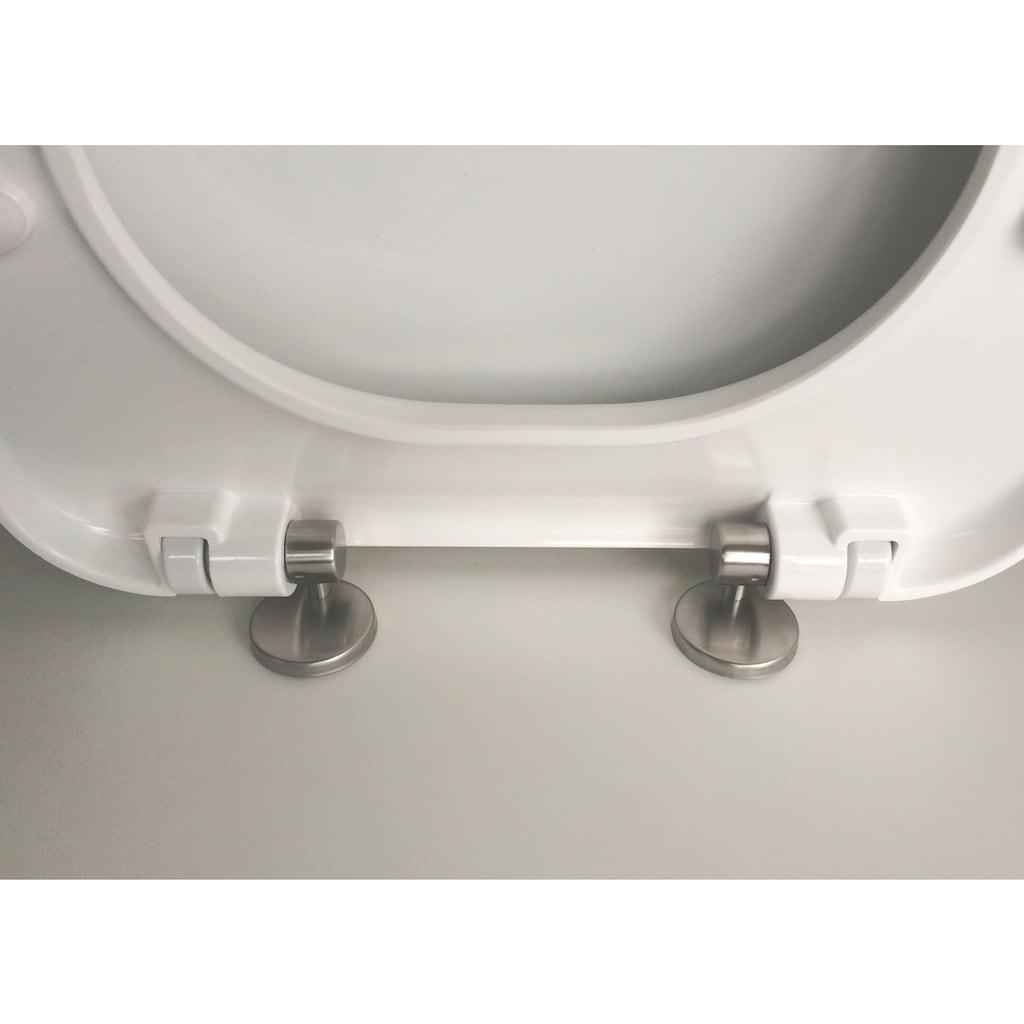 ADOB WC-Sitz »F1«, Absenkautmatik, abnehmbar
