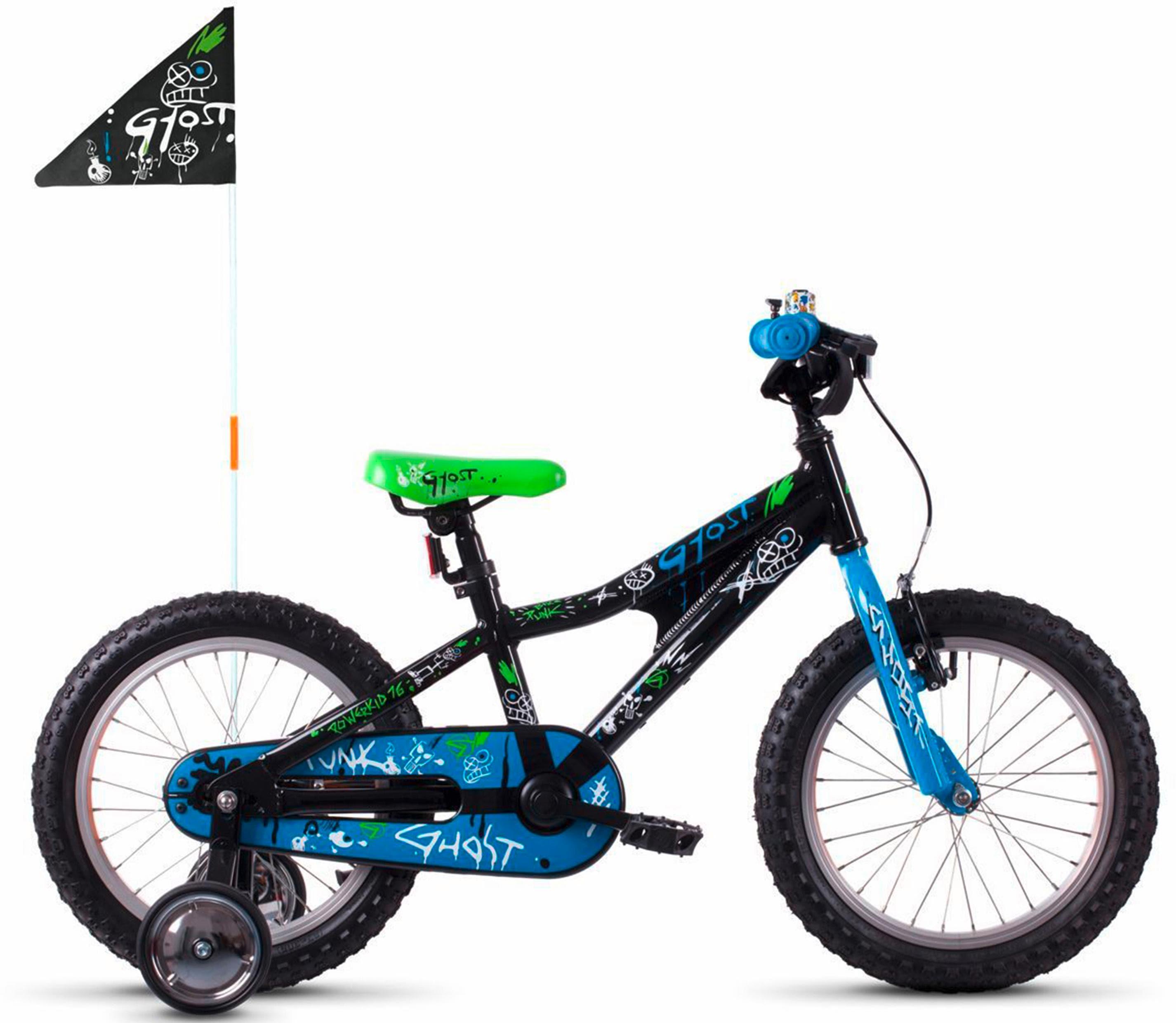Ghost Kinderfahrrad POWERKID AL 16 K schwarz Kinder Kinderfahrräder Fahrräder Zubehör Fahrrad