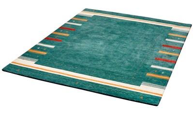 Dekowe Wollteppich »Apisana«, rechteckig, 13 mm Höhe, reine Wolle, Orient-Optik, Gabbeh Design, mit Bordüre, Wohnzimmer kaufen
