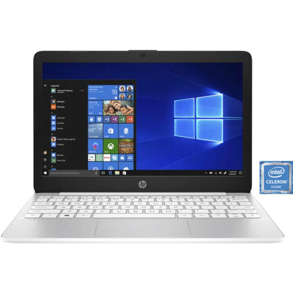 "HP Notebook »11-ak0021ng«, (29,5 cm/11,6 "" Intel Celeron UHD Graphics 600\r\n), Kostenloses Upgrade auf Windows 11, sobald verfügbar"