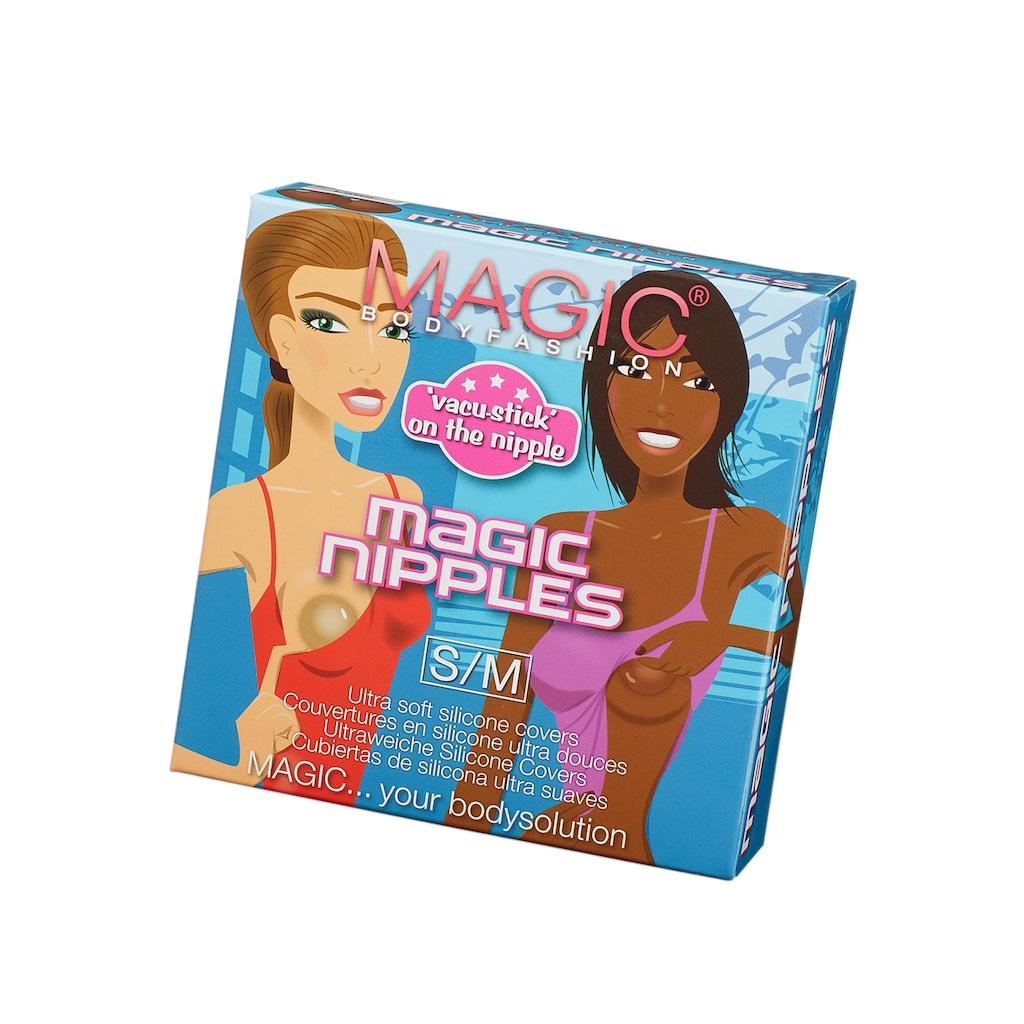 MAGIC Bodyfashion Brustwarzenabdeckung »Magic Nipples«, aus ultraweichem Silikon