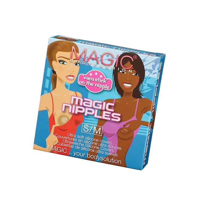 MAGIC BODYFASHION Damen Magic Nipples Klebe-BH