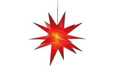 HGD Holz - Glas - Design Kunststoff - Stern für außen 18 - Zacker kaufen