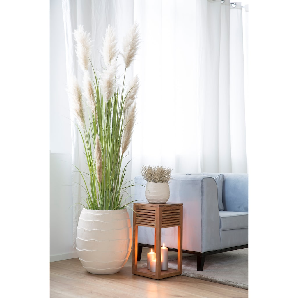 Fink Übertopf »COCON«, (1 St.), dekorativer Blumentopf, Stein- oder Betonoptik, handgefertigt, in verschiedenen Größen erhältlich, In- und Outdoor geeignet