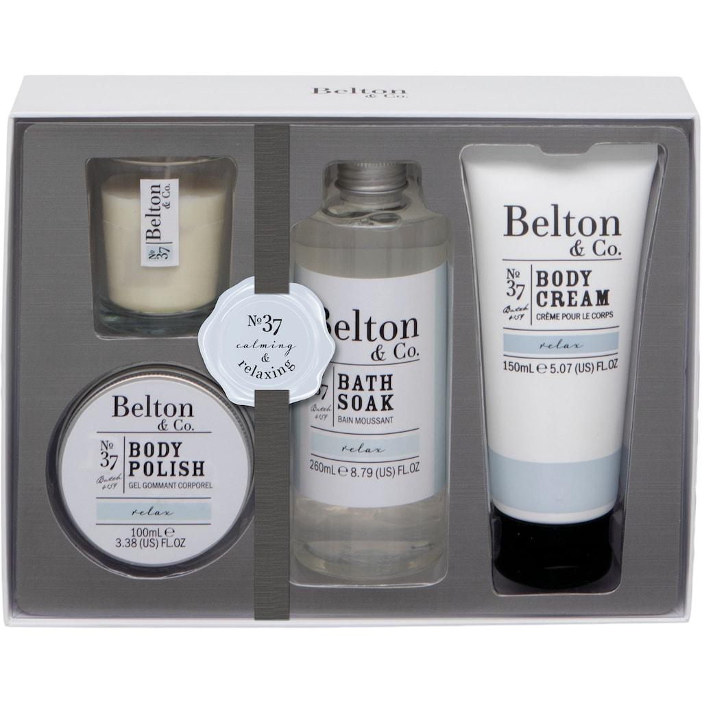 Hautpflege-Set »Belton & Co - Relax Bath & Body Set«, (4 tlg.)
